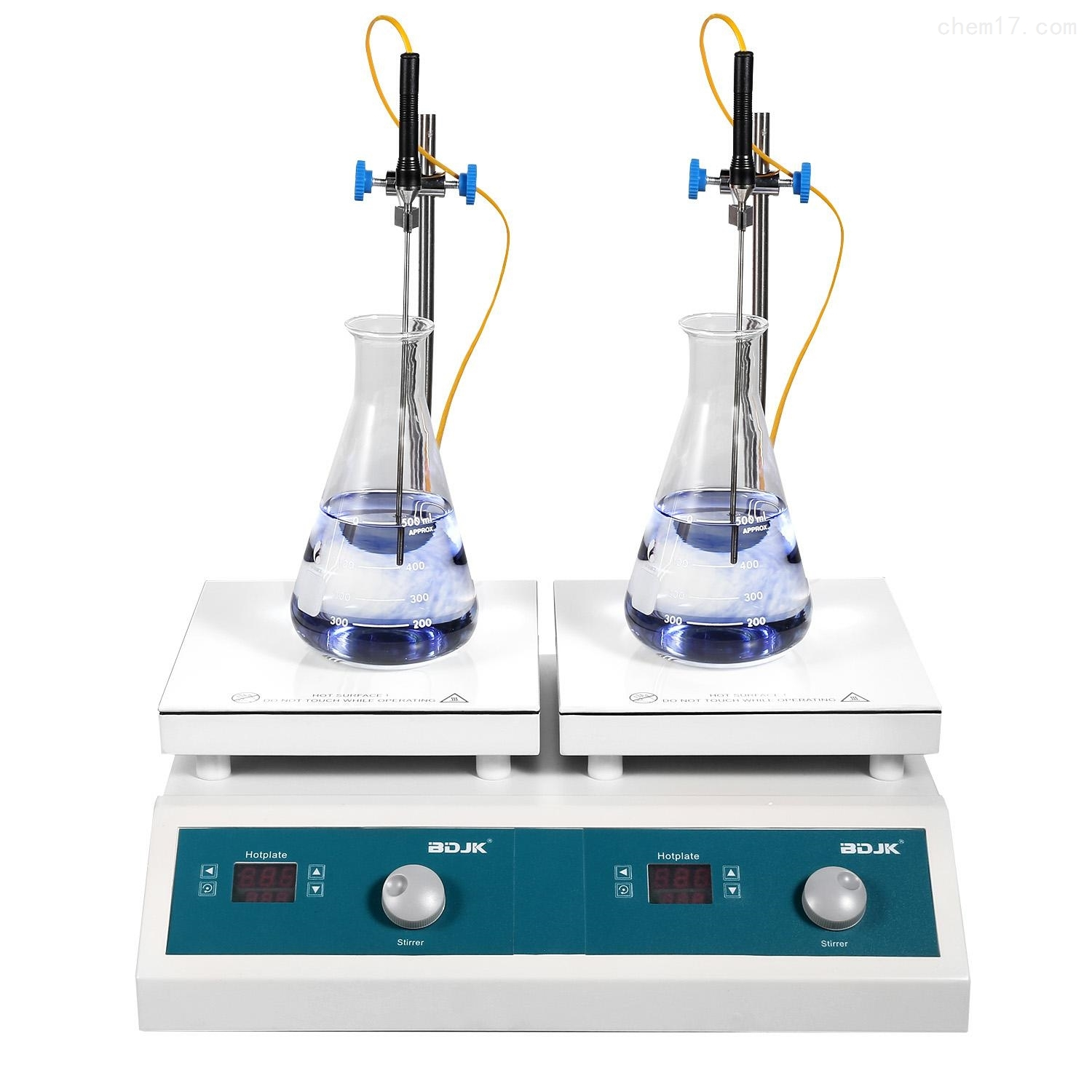 HMS-901D 2 combined 2 combined heating magnetic stirrer