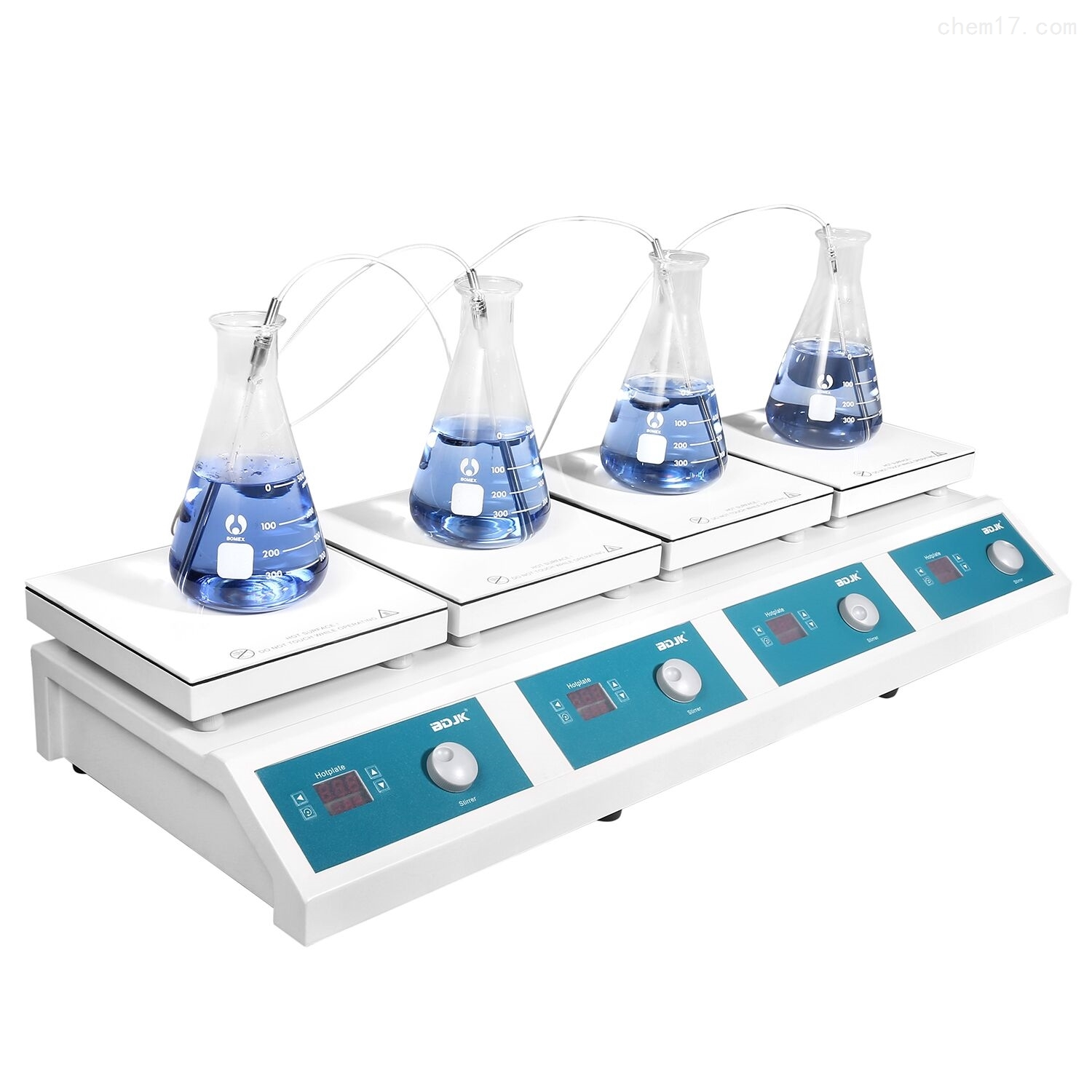 HMS-901D 4 combined 4 combined heating magnetic stirrer